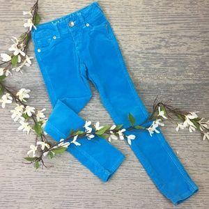 Justice blue corduroy pants